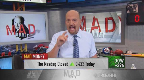 Forget FANG, the market loves WANG, says Cramer