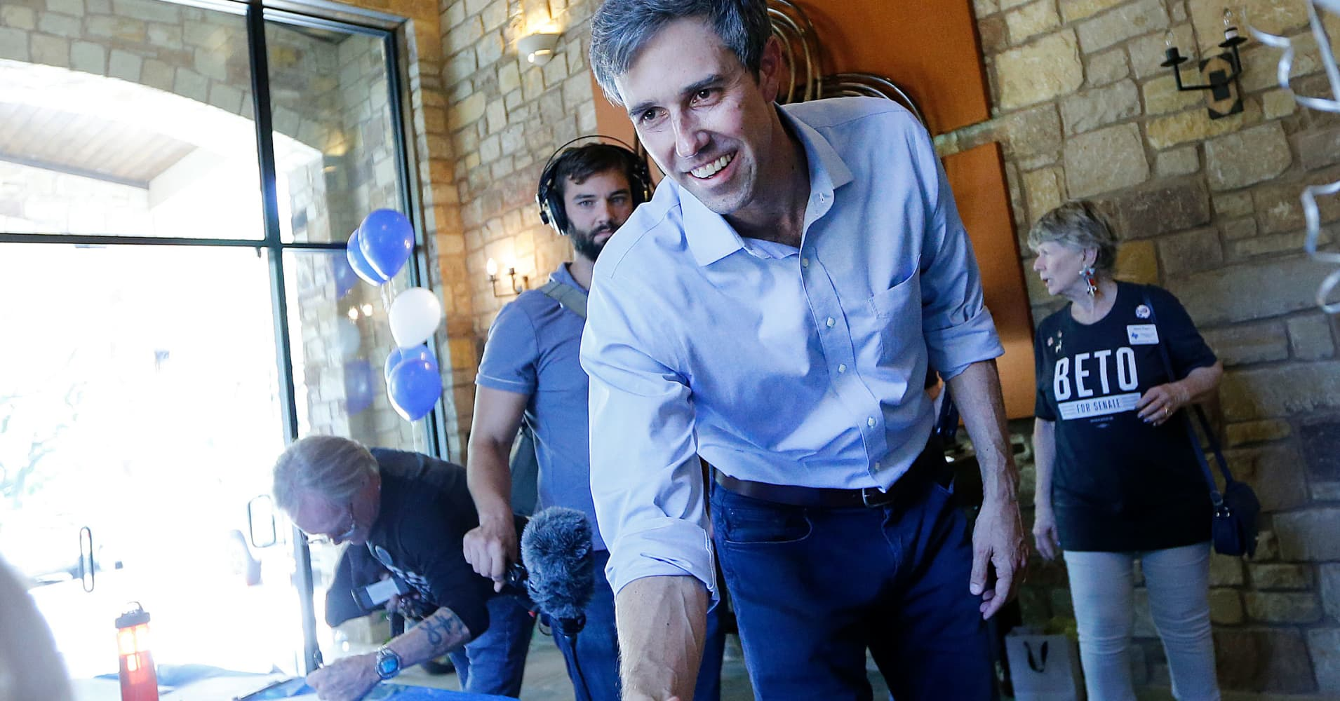 Silicon Valley tech employees are pouring money into Beto O'Rourke's campaign to unseat Ted Cruz