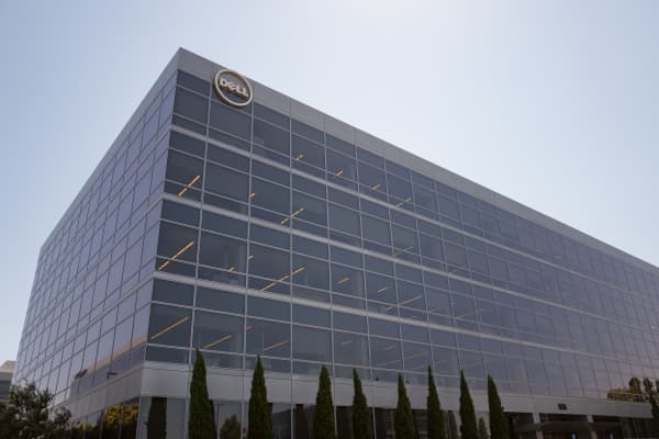 Dell Computers regional headquarters  in Santa Clara, California.