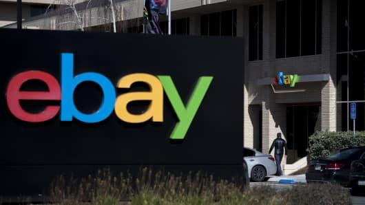 eBay's headquarters in San Jose, California, U.S.