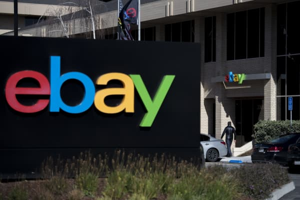 eBay's headquarters in San Jose, California, U.S.