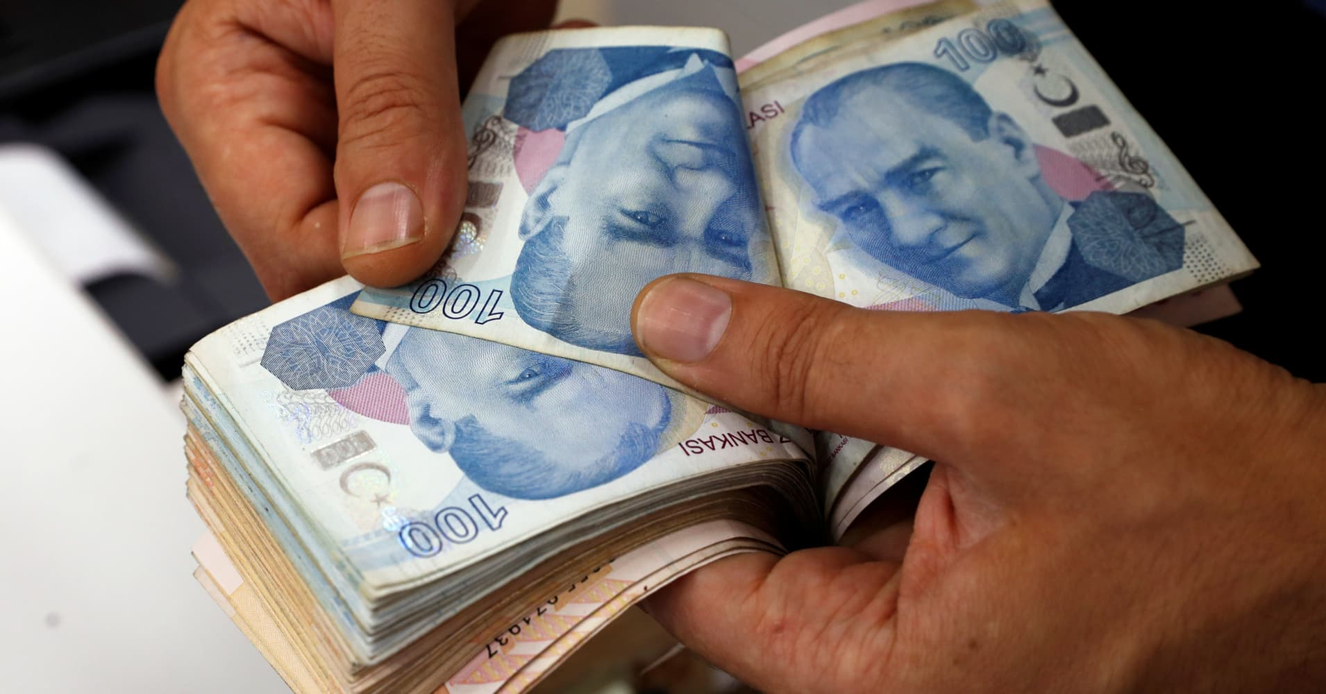 Turkish lira weakens as investors await central bank rates decision