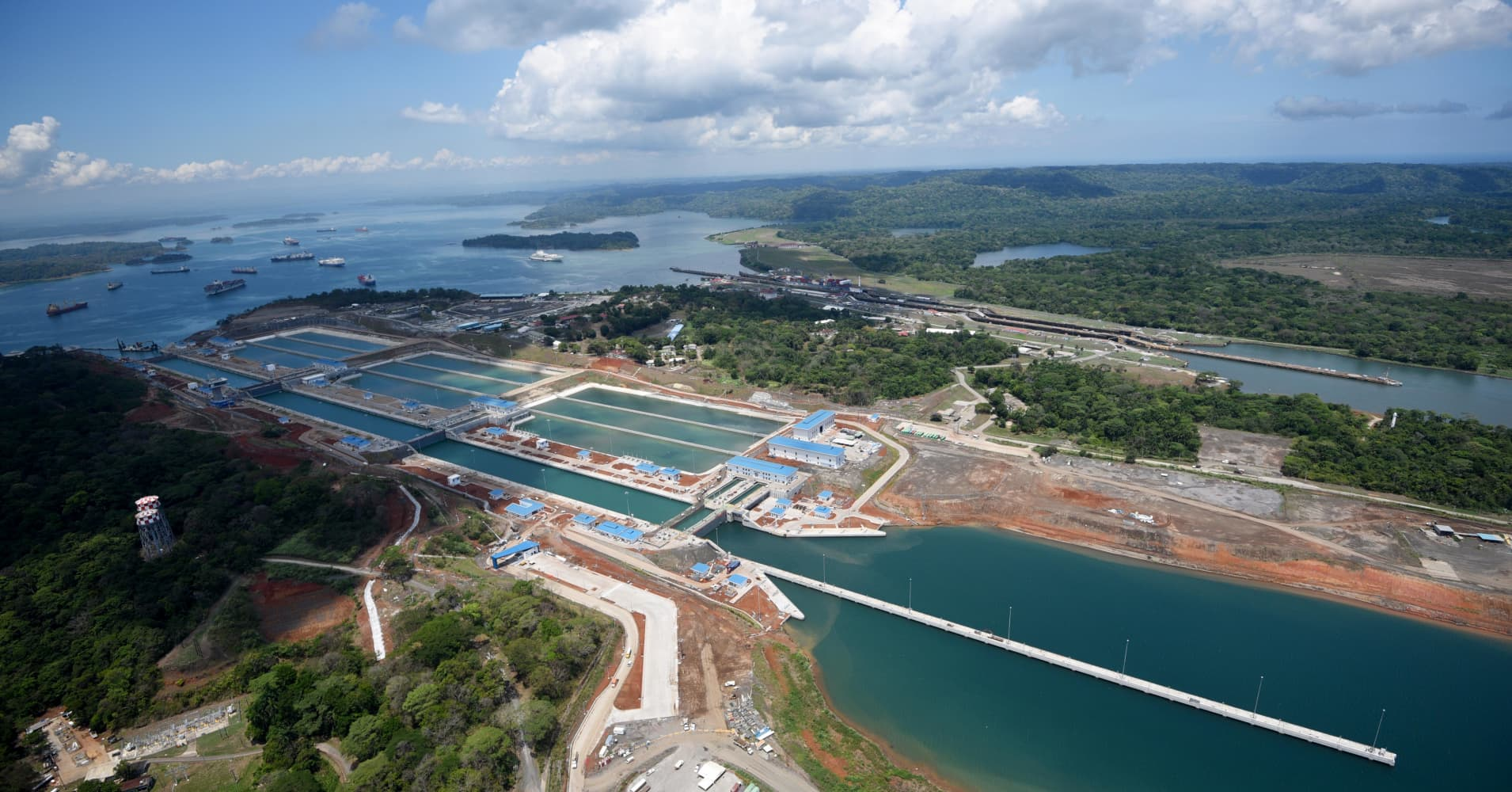 The Panama Canal is a wonder of the modern world – here's how it plans to reduce shipping emissions
