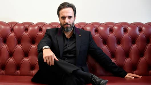 Jose Naves CEO of online fashion house Farfetch.