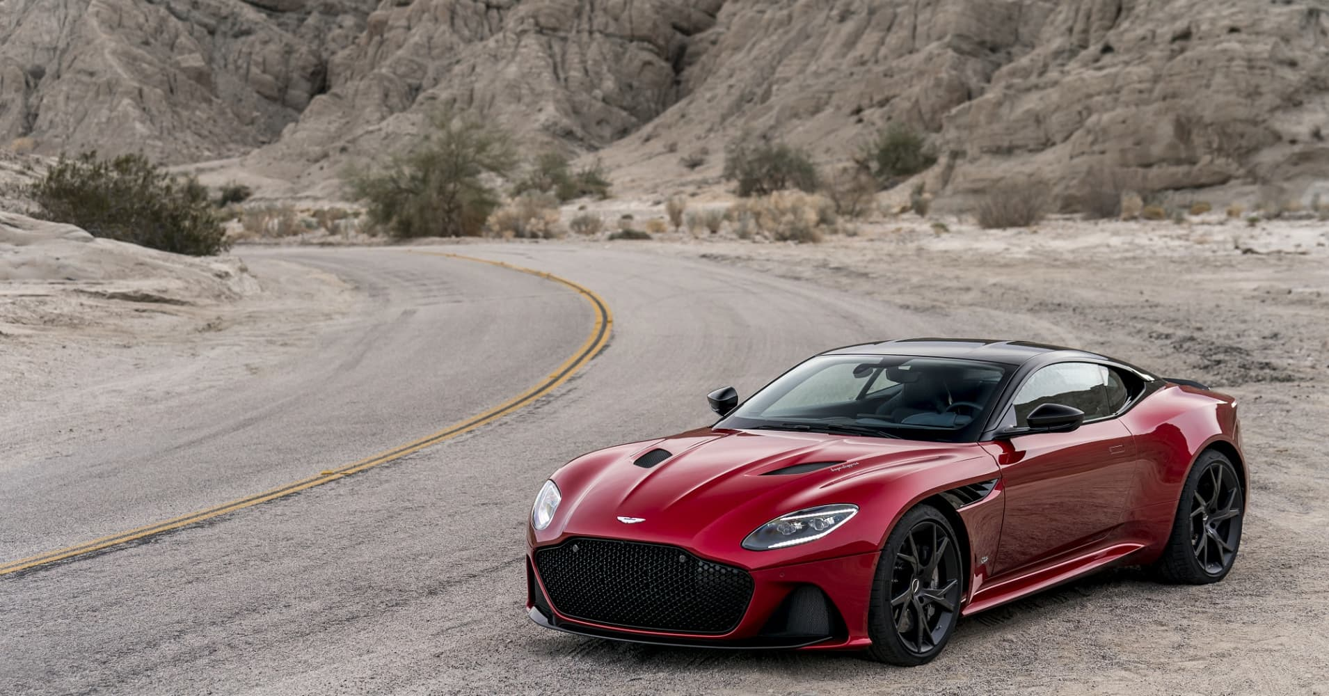 photos: new $305,000 aston martin dbs superleggera supercar