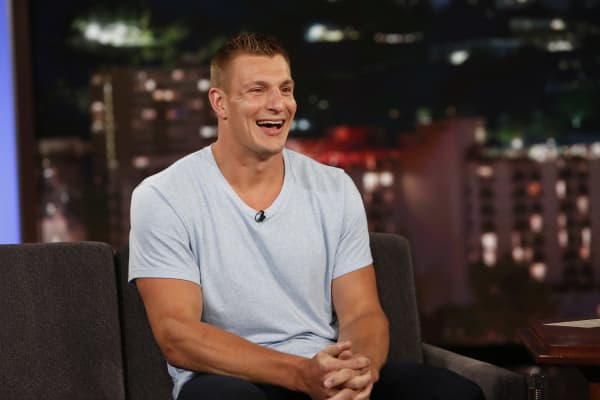 Rob Gronkowski of the New England Patriots