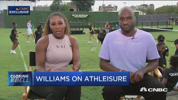 Serena Williams on new Nike clothing line
