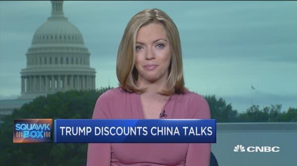 Mexico trade talks resume today, Trump discounts China talks