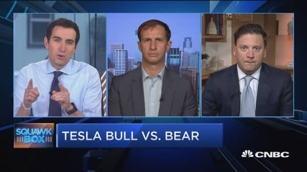 Five percent chance Tesla goes private, says Consumer Edge Research automotive analyst