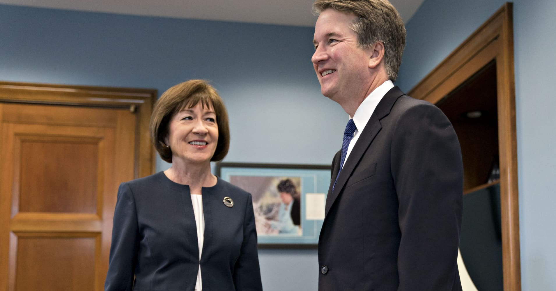 Brett Kavanaugh told Sen. Susan Collins Roe v. Wade is settled law