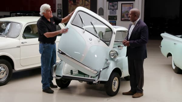 Here's what Jay Leno spends his money on for fun