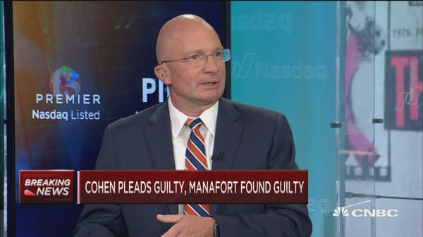This will matter very short term: Tony Dwyer on Manafort, Cohen