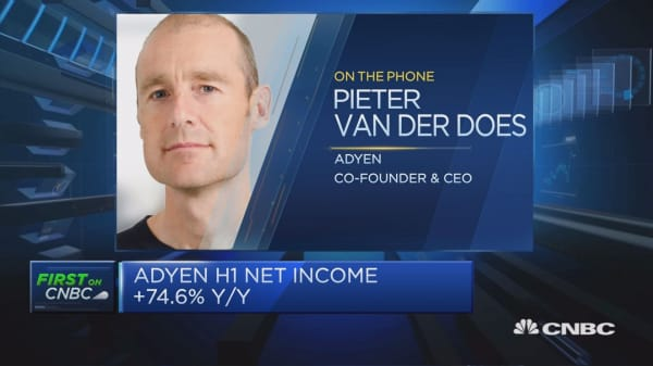 Adyen CEO: Shareholders felt IPO was the right thing to do