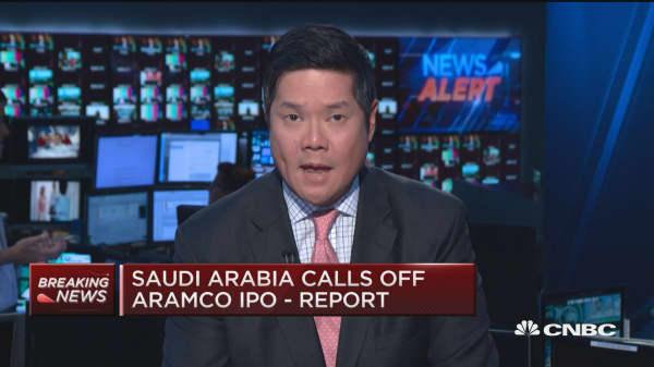 Saudi Arabia calls off Aramco IPO: Report