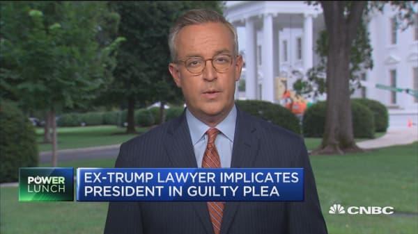 Trump denies campaign finance allegations on Fox News