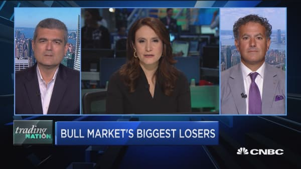 Trading Nation: Bull market's biggest losers