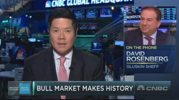 Long-time bear David Rosenberg sees trouble looming in longest bull market on record