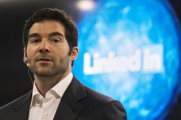 Watch CNBC's full interview with LinkedIn CEO Jeff Weiner