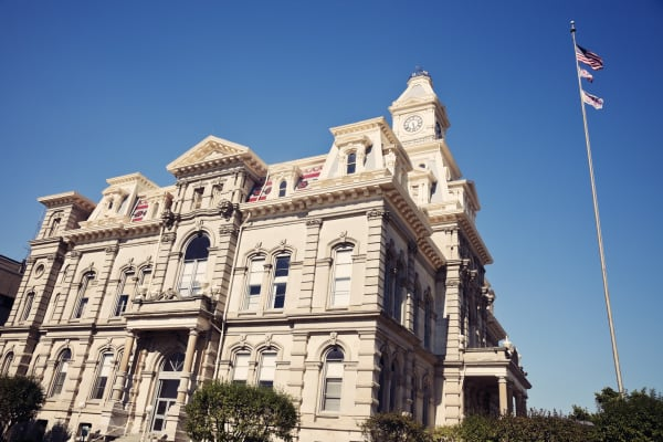 Muskingum County Courthouse in Zanesville, Ohio