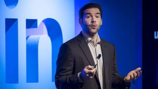 Jeffrey 'Jeff' Weiner, chief executive officer of LinkedIn Corp.