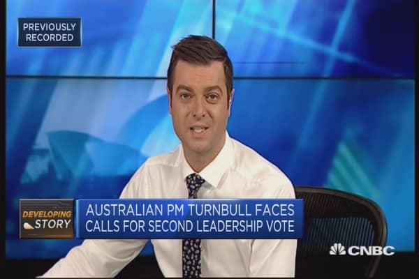 Australian PM facing calls for new leadership vote