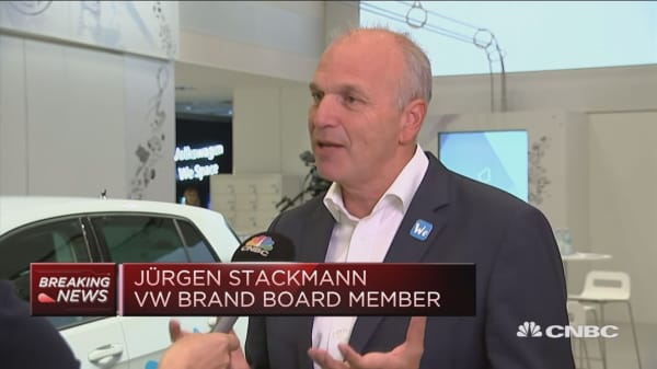 VW's Stackmann: Major M&A announcement expected by end of year