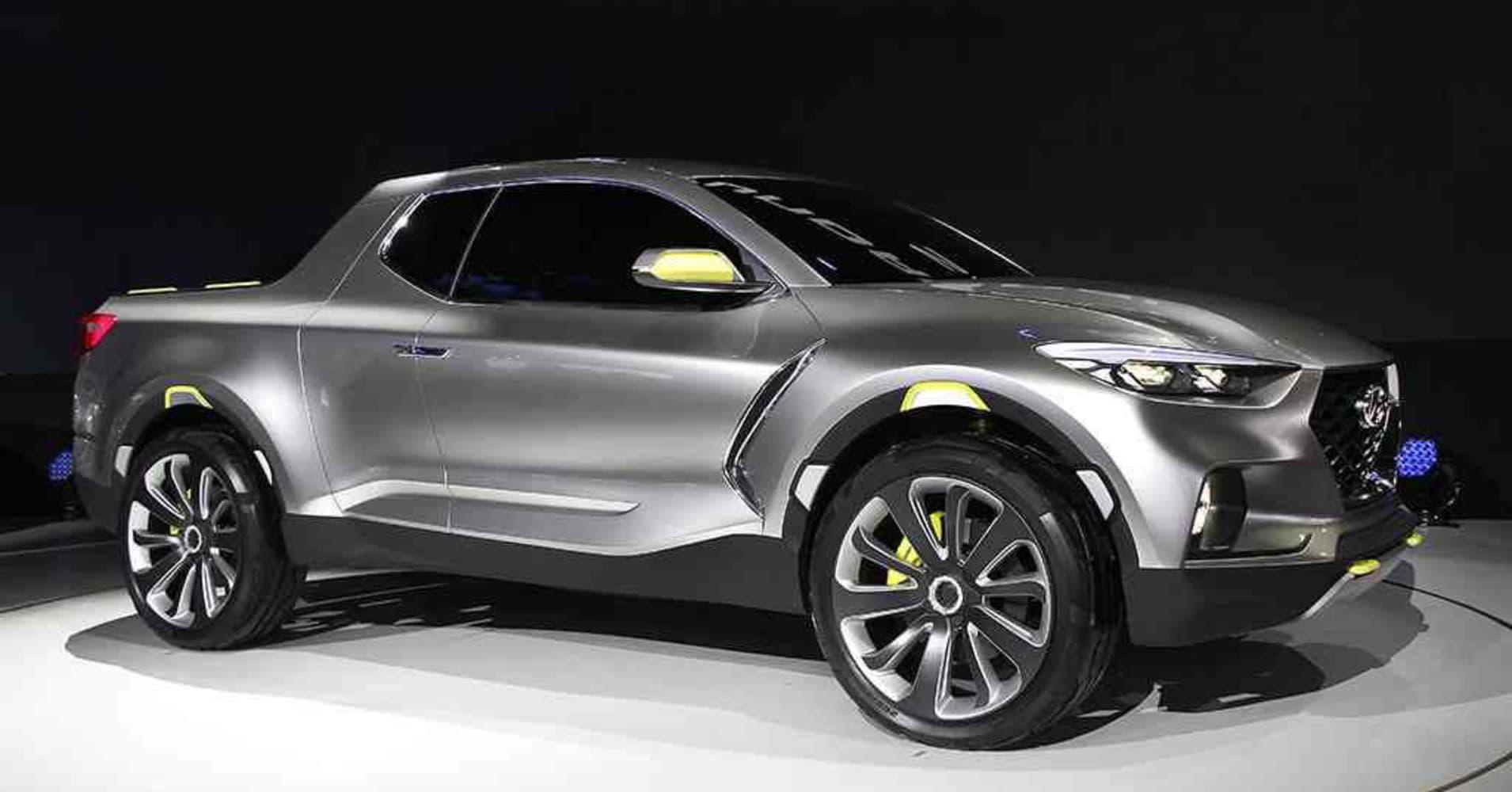 hyundai 39 s compact pickup santa cruz heads closer to 2020 launch. Black Bedroom Furniture Sets. Home Design Ideas