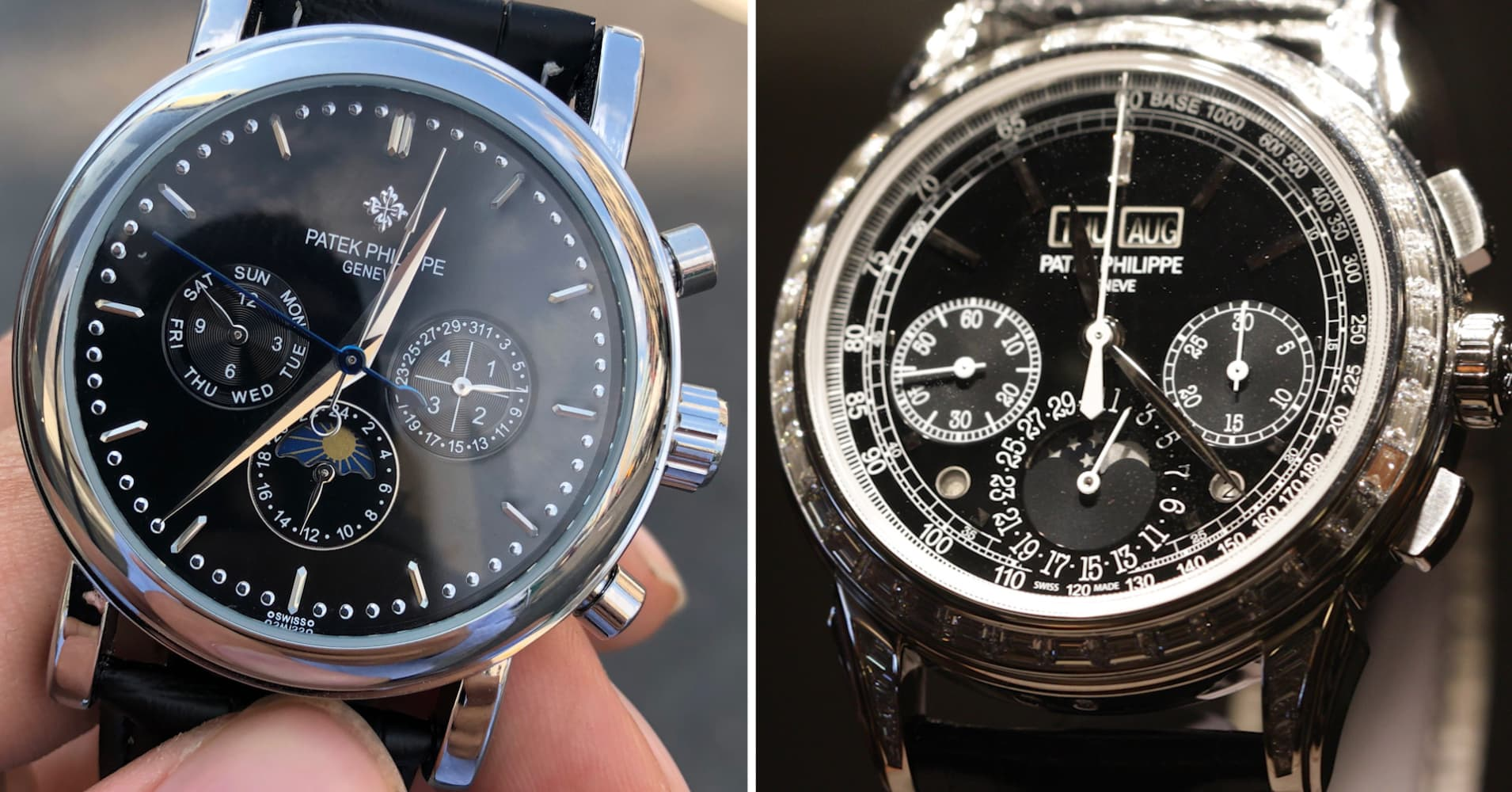 I shopped for a $260,000 Patek Philippe and compared a $60 knock-off