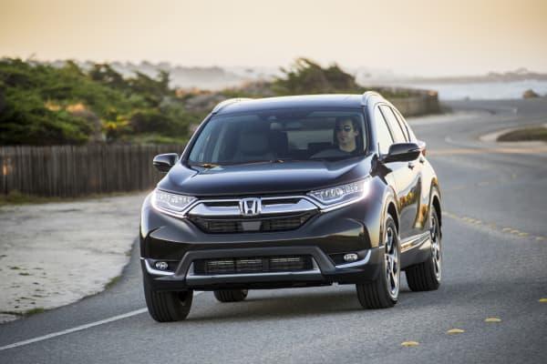 A 2018 Honda CR-V.