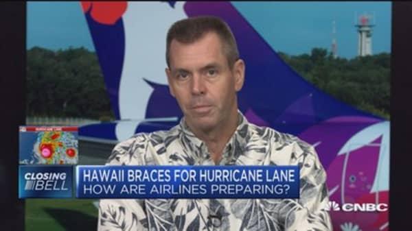 Hawaiian Airlines CEO on preparing for Hurricane Lane