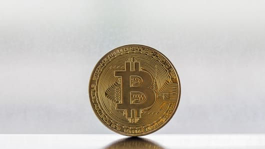 In this photo illustration the digital Cryptocurrency, Bitcoin is seen on August 13 2018 in Hong Kong, Hong Kong.