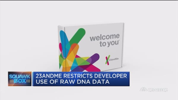 23andMe restricts developer use of raw DNA data