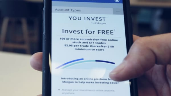 JP Morgan to offer digital investment app with free trading