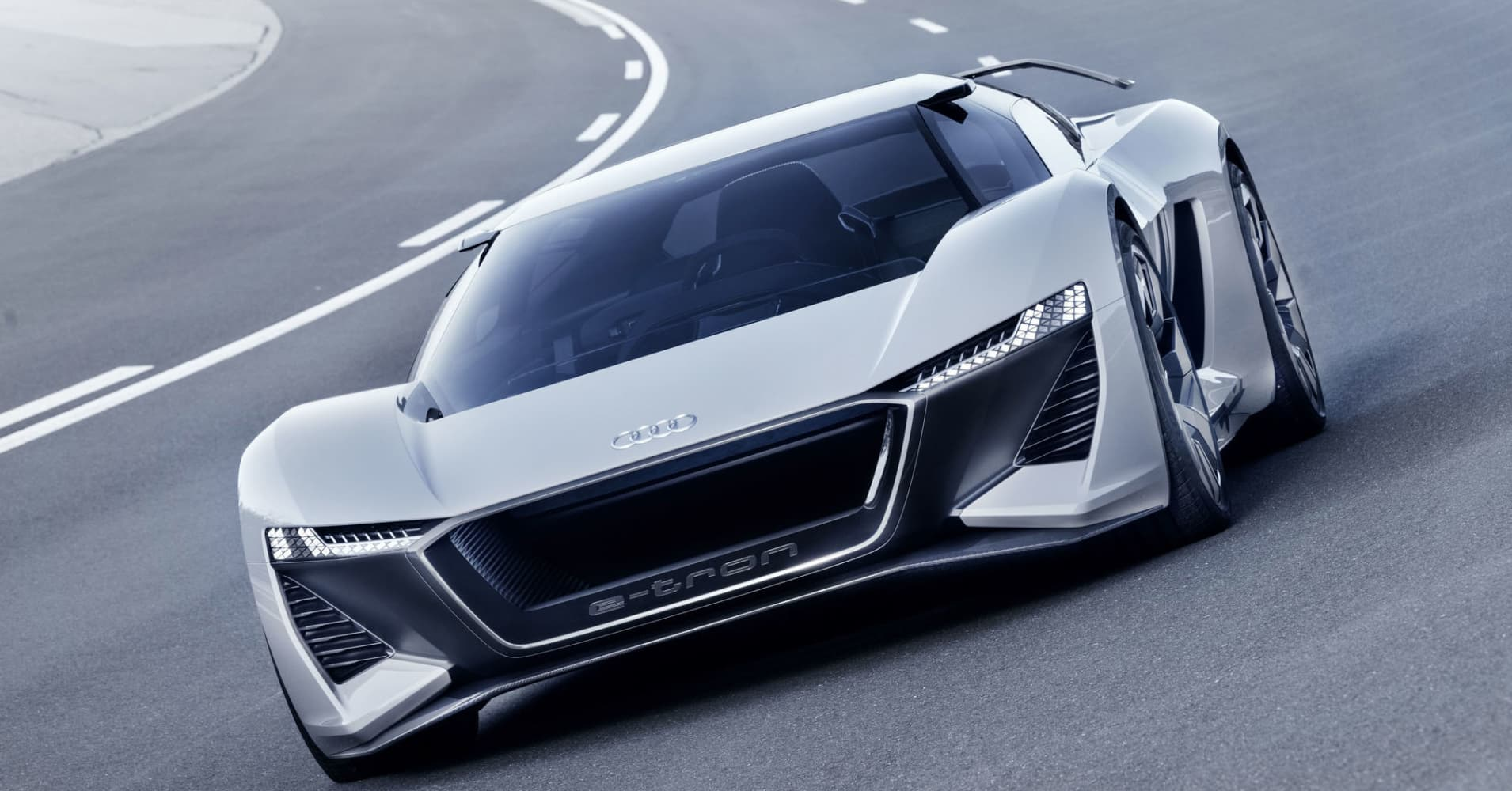 Audis New Electric Car Goes From To In Seconds - Audi super car