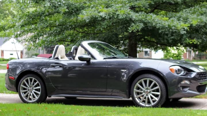 2018 Fiat 124 Spider Lusso Review