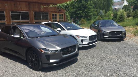 Jaguar I-Pace, Jaguar's electric crossover.