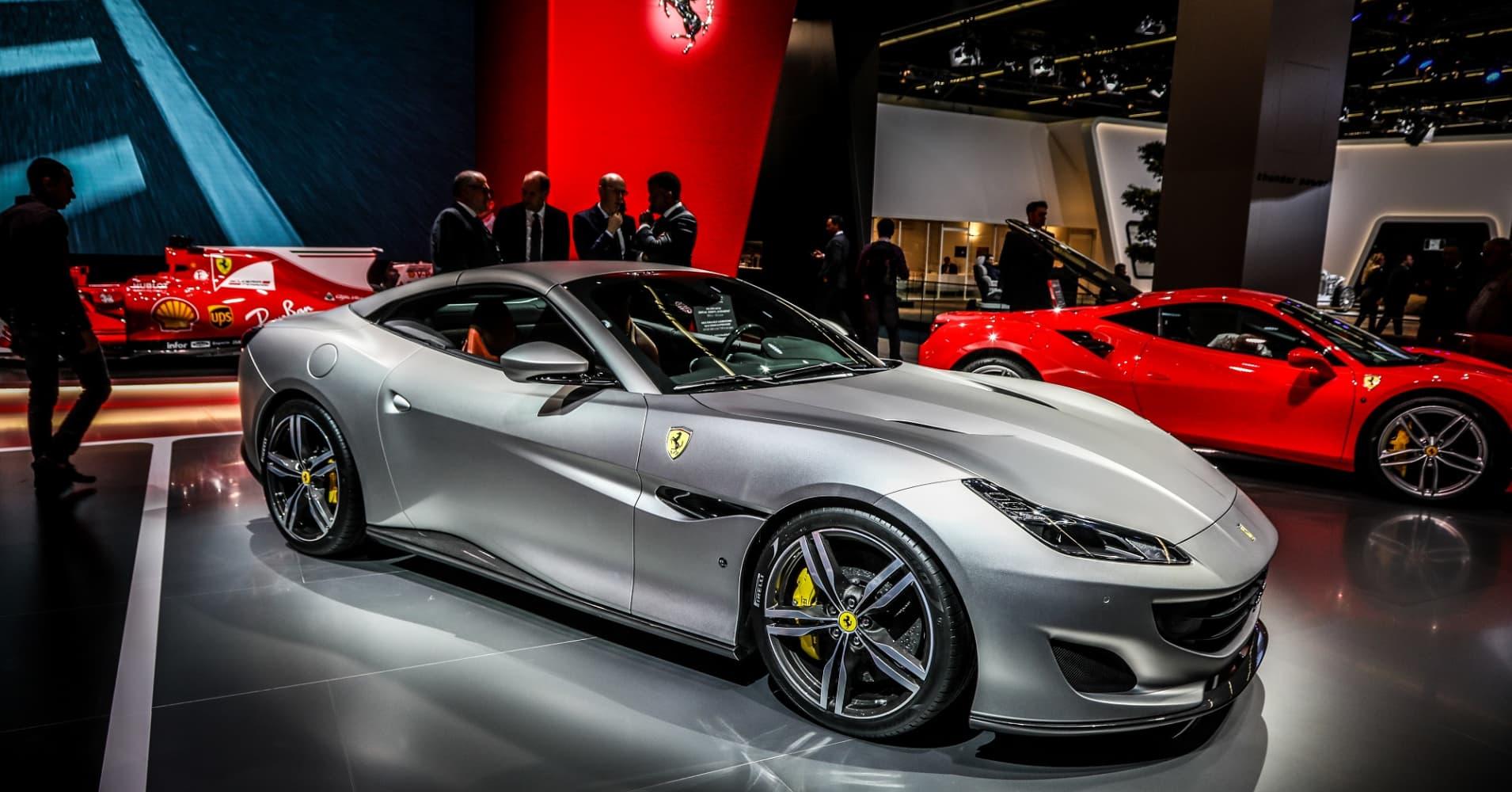 The Ferrari Portofino