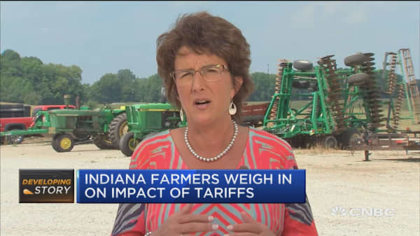 Indiana rep. says farmers happy about trade agreement with Mexico, but also need deal with Canada and China