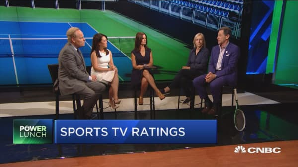 Tennis Channel distribution doubled in last 18 months