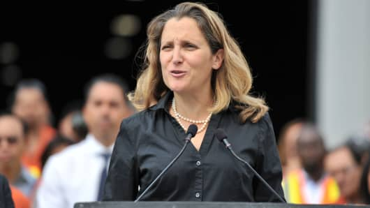 Image result for chrystia freeland