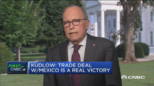 Larry Kudlow on trade war with China