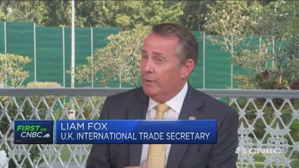 UK doesn't want 'no deal' Brexit, Liam Fox says