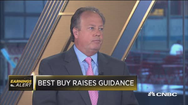 Best Buy drops despite earnings beat