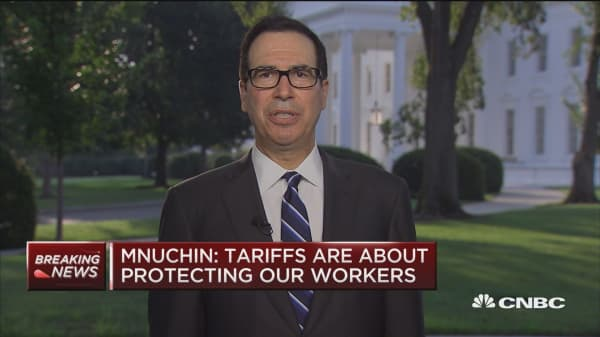 Sec. Mnuchin: We're not looking to harm Chinese economy