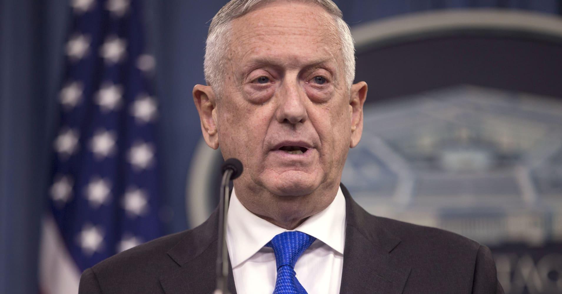Trump suggests Defense Secretary Mattis may depart Pentagon, calls him 'sort of a Democrat'