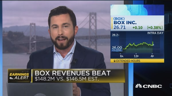 Box second quarter earnings beat the street