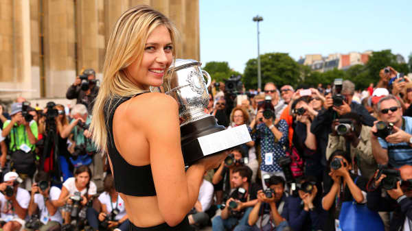 Here's what Maria Sharapova learned from growing up poor