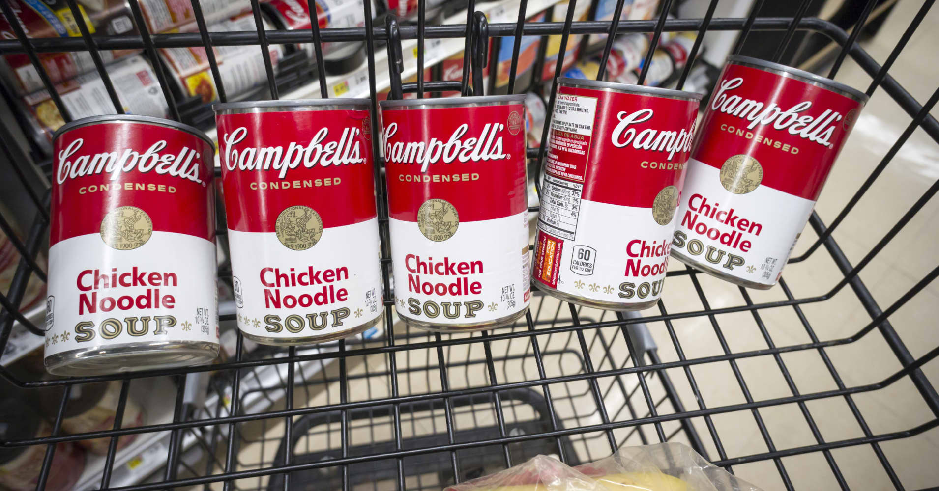 Activist hedge fund manager Loeb goes after Campbell Soup with video