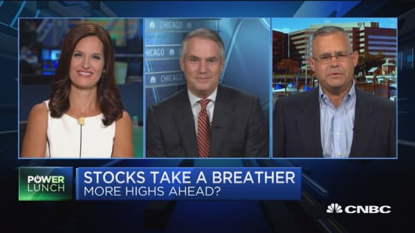 Stick with consumer discretionary, technology and healthcare for now, says chief investment strategist