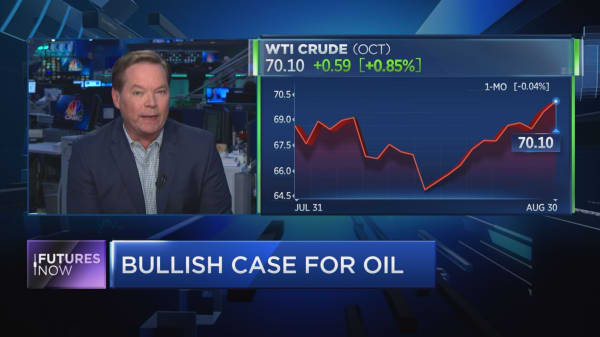 Oil could hit mid-$90s in next few months, energy expert says